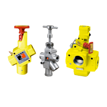 Energy Isolation Lockout Valves