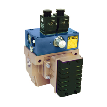 Pneumatic L-G Monitor, Ports 38 to 34 SERPAR 35 Series